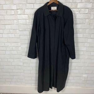 VTG CBO New York black overcoat